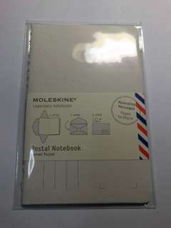 Moleskine postal notebook big and small