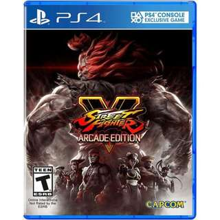 PS4 STREET FIGHTER V ARCADE EDT - PAL