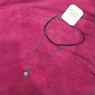 Smiley Choker Necklace