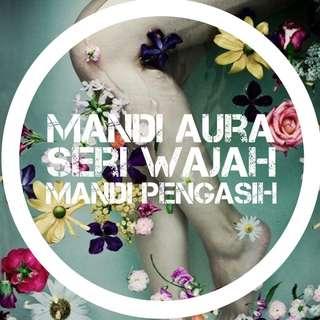 MANDI AURA SERI WAJAH / MANDI PENGASIH/ AURA BATH
