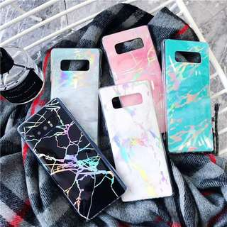 Samsung Note 8 / S9 / S9+ Holographic Marble Case