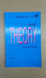A handbook of music theory 樂理書1至5級