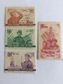 Prc china C17 Chinese PLA mnh