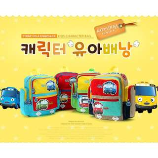 BMT436 - Korea Imported Tayo Toddler School Backpack