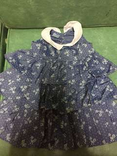 Blue dress 18months