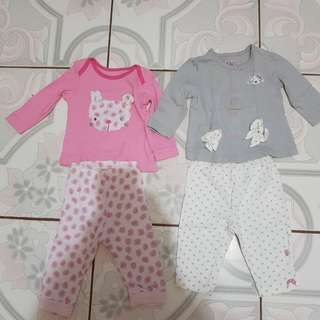 Pajama set for newborn to 3 months old