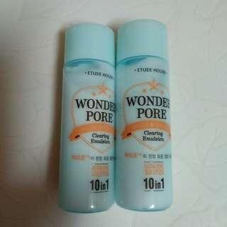 Etude House Wonder Pore clearing emulsion