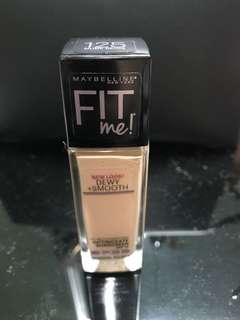 Maybelline Fit Me Foundation Dewy + Smooth (Nude Beige)