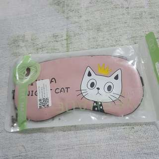 Replica Brand New Sealed I'm A Night Cat Padded Blindfold Eye Mask