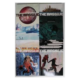 The Massive volumes 1-5 (graphic novel, completed series)