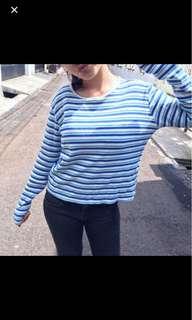 Gap stripes top