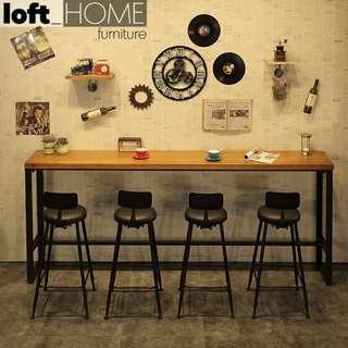 Loft Bar Table & Stool - Starbucks