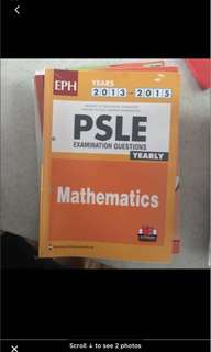 Psle maths past year exam papers