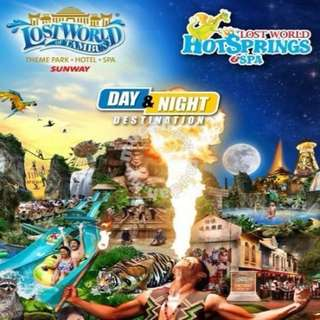 Lost World Of Tambun Ipoh Theme Park & Hot Spring