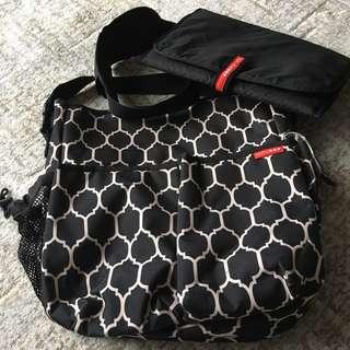 Skip Hop crossbody diaper bag