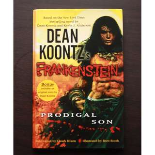 Frankenstein Prodigal Son by Dean Koontz Graphic Novel