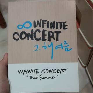 Infinite Concert DVD - That Summer (4 DVD)