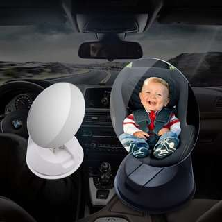 Frameless Child Safety Mirror