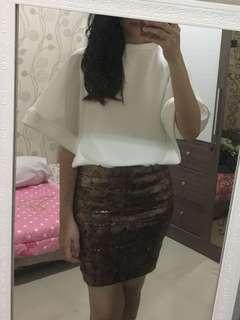 White Cape Shirt
