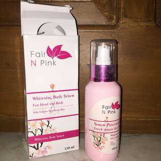 Whitening Body Serum (for hand and body)