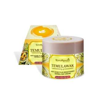 Cream Temulawak day Roro Mendut jerawat krim siang
