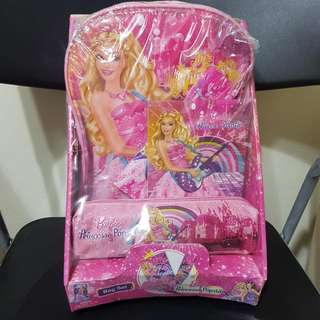 Barbie 11'' Backpack, Pencil Pouch