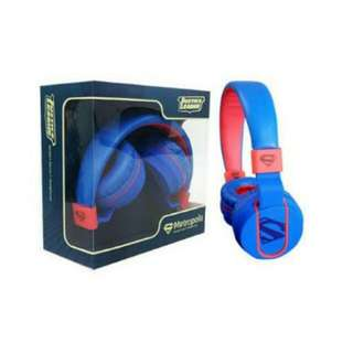 DC Ekotek Headphones Superman Metropolis