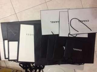 Paper bag all 180.00