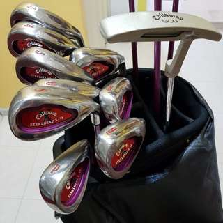Callaway Big Bertha Ladies Golf Clubs Set