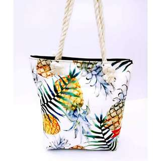 Summer Beach Tote Bag [TMM Style: PIN-W]