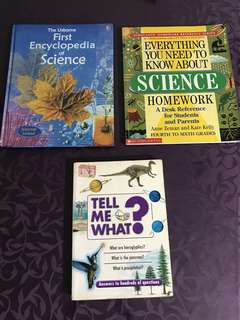 Science Enrichment books