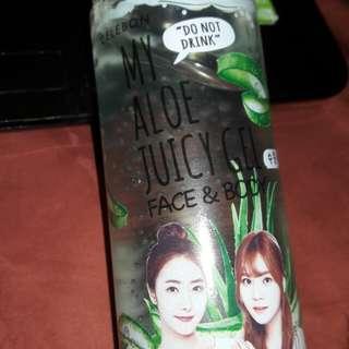 Celebon my aloe juicy gel face and body 95% aloe vera