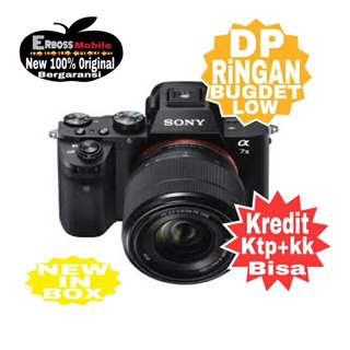 Sony A7-II Plus SEL50F18F-Kredit Tanpa CC