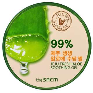 FREE JASTIP Counter SOGO The Saem Aloe Vera Gel 99%