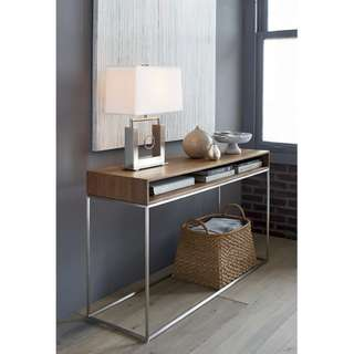 CRATE AND BARREL - FRAME CONSOLE TABLE