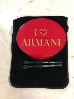 Armani red carpet eyes and face palette