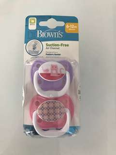 Dr Brown's Pacifier 6-12M