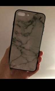 Iphone 8plus  雲石紋電話殼