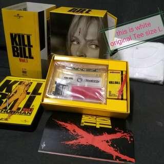 (limited edition /Japan import) Kill Bill Special DVD Box Set (w Be@rbrick, original t-shirt etc)