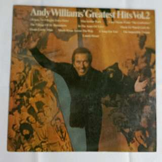 Andy Williams - Greatest Hits Vol.2 Record