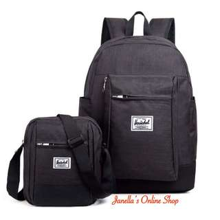 Herschel Backpack with sling