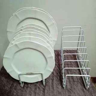 Plate Display Rack