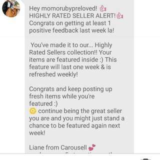 Highly Rate Seller😘❤❤