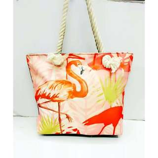 Summer Beach Tote Bag [TMM Style: FLAM-OR]
