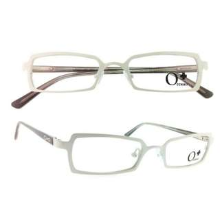 Optical Eyeglass Frame - Stylish Ladies/Teens Halfrim Metal & Plastic Temple w/ FLEX Hinge 型格金屬框眼鏡架 [ e13-E005b_dl ]