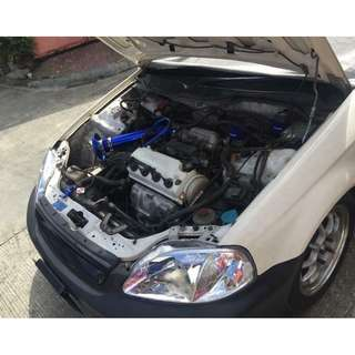 D15B VTEC SOHC engine w/ matic tranny