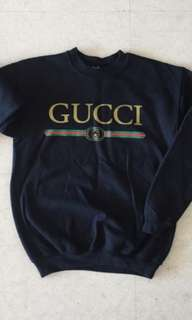 BN REDUCED FAUX GUCCI SWEATER