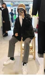2littlebob灰色褲