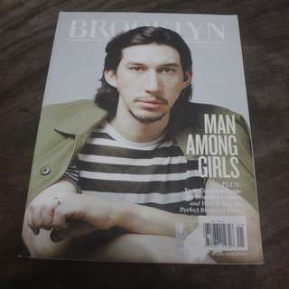 ADAM DRIVER (cover of magazine)