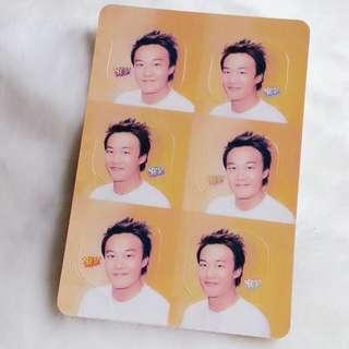 陳奕迅 Yes Card Yes咭 Yes卡 明星 相片 照片 貼紙